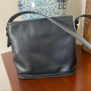 Coach Classic Black Shoulder Bag